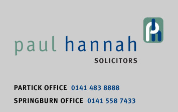 Paul Hannah Solicitors Glasgow