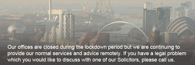 Sound Advice from Paul Hannah Solicitors Glasgow